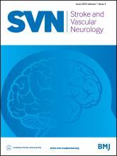 Stroke and Vascular Neurology: 1 (2)