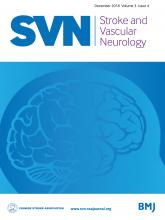Stroke and Vascular Neurology: 3 (4)
