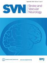 Stroke and Vascular Neurology: 5 (3)