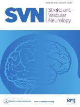 Stroke and Vascular Neurology: 5 (4)