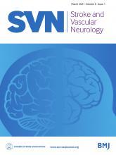Stroke and Vascular Neurology: 6 (1)